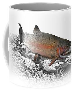 Migrating Steelhead Rainbow Trout Coffee Mug