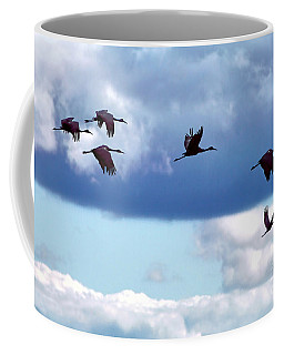 Migration Coffee Mug by Adam Olsen