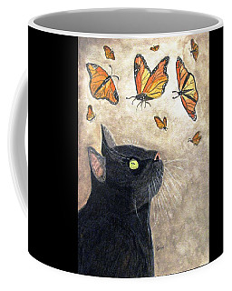 Coffee Mug featuring the painting Migration by Angela Davies