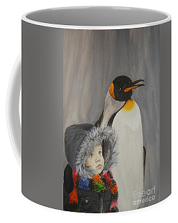 Mika And Penguin Coffee Mug