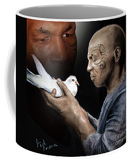 Mike Tyson And Pigeon II Coffee Mug