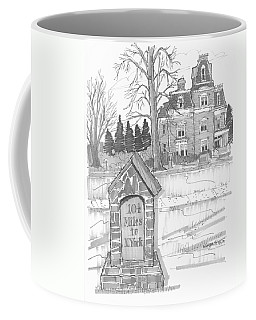 Mile Marker And Victorian Coffee Mug