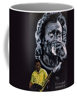 Miles Davis Jazz King Coffee Mug