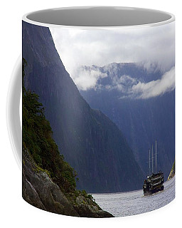 Coffee Mug featuring the photograph Milford Sound by Stuart Litoff