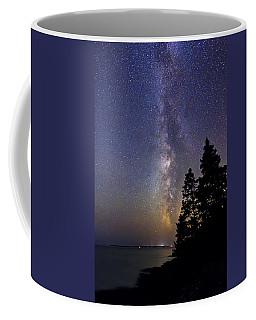 Milky Way At Acadia National Park Coffee Mug