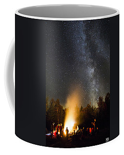 Milky Way At Flagstaff Hut Coffee Mug