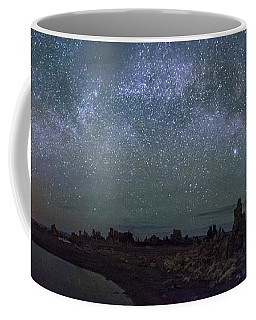 Milky Way At Mono Lake Coffee Mug