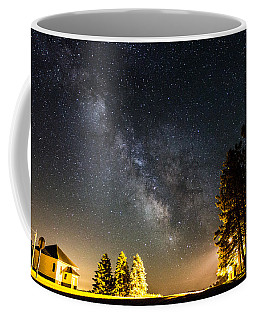 Milky Way From Oldham South Dakota Usa Coffee Mug