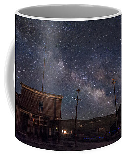 Milky Way Over Bodie Hotels Coffee Mug