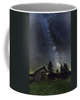 Milky Way Over Foster Covered Bridge Coffee Mug