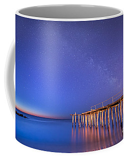 Milky Way Sunrise Coffee Mug by Michael Ver Sprill