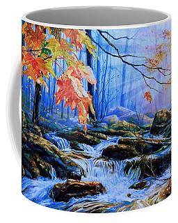 Mill Creek Autumn Sunrise Coffee Mug