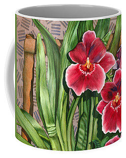 Miltonia Orchids Coffee Mug