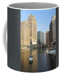 Milwaukee River Theater District 3 Coffee Mug