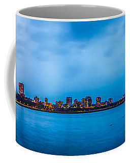 Coffee Mug featuring the photograph Milwaukee Skyline - Version 2 by Steven Santamour