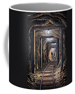 Mine Shaft Mural Coffee Mug