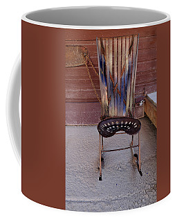 Coffee Mug featuring the photograph Miner's Rocker by Fran Riley