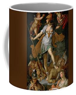Minerva Victorious Over Ignorance Coffee Mug