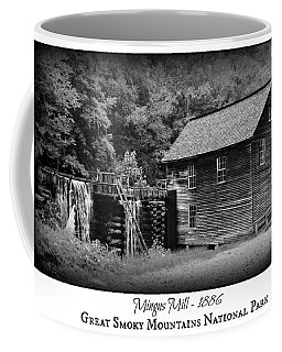 Mingus Mill -- Black And White Poster Coffee Mug