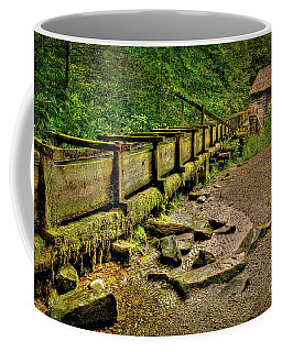 Mingus Mill Mingus Creek Great Smoky Mountains Art Coffee Mug