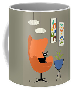 Coffee Mug featuring the digital art Mini Oblongs And Mobile by Donna Mibus
