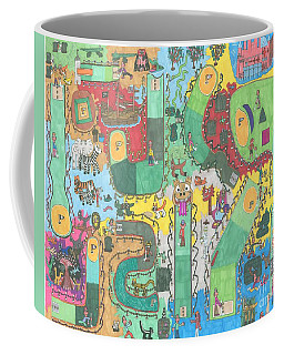 Miniature Golf Coffee Mug