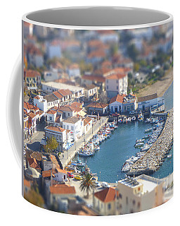 Coffee Mug featuring the photograph Miniature Port by Vicki Spindler