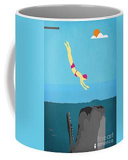 Minimal Sea Life  Coffee Mug