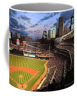 Minnesota Twins Minneapolis Skyline Target Field Coffee Mug