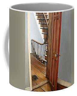 Minnie Crossing The Threshold  Coffee Mug by Eileen Patten Oliver