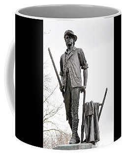 Minute Man Statue Coffee Mug
