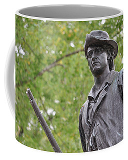 Minute Man Statue In Spring Coffee Mug
