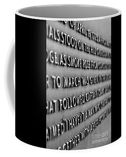 Minute Man Statue Plaque 2 Coffee Mug
