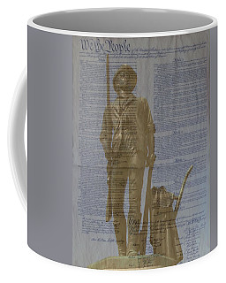 Minuteman Constitution Coffee Mug