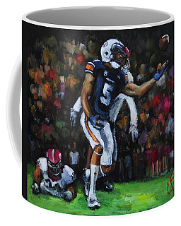 Miracle Catch 3 Coffee Mug by Carole Foret