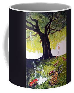 Mirage Of Lives  Coffee Mug by Lazaro Hurtado