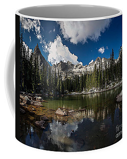 Coffee Mug featuring the photograph Mirror Lake by Steven Reed
