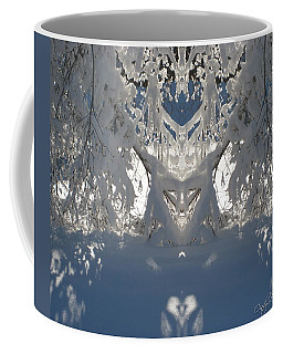 Mirror Of Snow  Coffee Mug