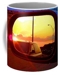 Mirror Sunset Coffee Mug