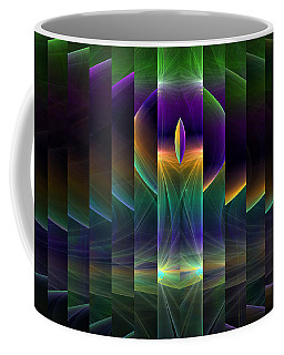 Mirrored Coffee Mug by GJ Blackman