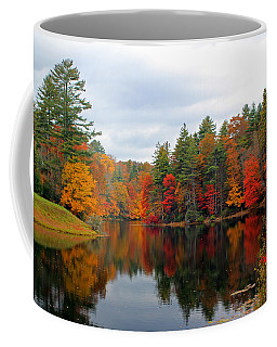 Mirrored Lake Coffee Mug