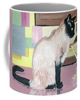 Miss Kitty And Her Treat Coffee Mug