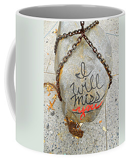 Coffee Mug featuring the photograph Missing You by Joan Reese