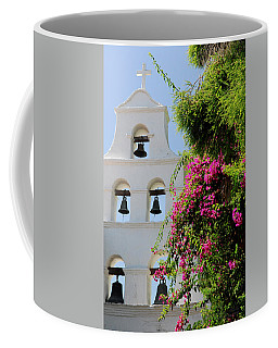 Coffee Mug featuring the photograph Mission Bells by Howard Bagley