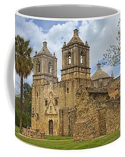 Coffee Mug featuring the photograph Mission Concepcion by Jemmy Archer