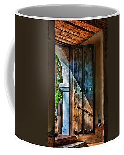 Mission Door Coffee Mug by Joan Carroll