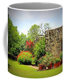 Mission Espada - Garden Coffee Mug by Beth Vincent