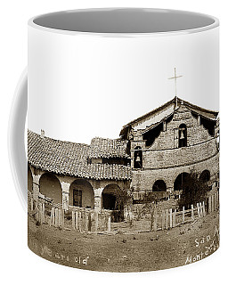 Mission San Antonio De Padua California Circa 1885 Coffee Mug