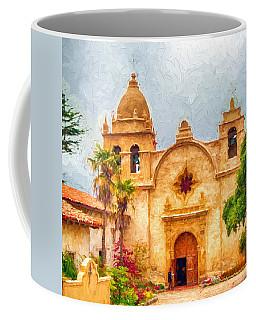 Mission San Carlos Borromeo De Carmelo Impasto Style Coffee Mug