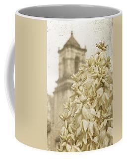 Mission San Jose And Blooming Yucca Coffee Mug